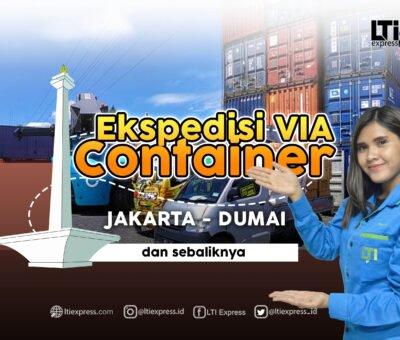 Ekspedisi Via Container Jakarta Dumai 20 feet dan 40 feet