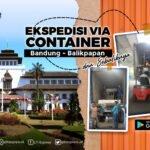 container bandung balikpapan