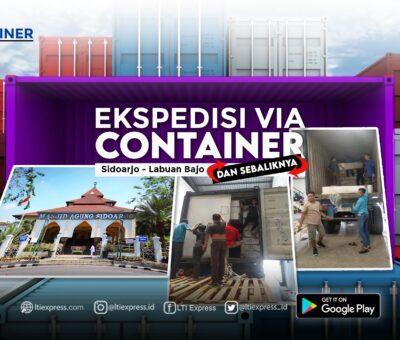 Ekspedisi Via Container Sidoarjo Labuan Bajo 20 Feet dan 40 Feet