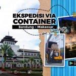 ekspedisi container bandung makassar