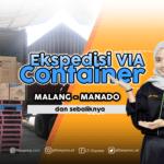 ekspedisi container malang manado