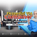 container malang manokwari