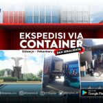 container sidoarjo pekanbaru