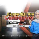 ekspedisi container malang tual