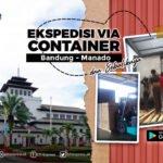 ekspedisi container bandung manado