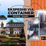 ekspedisi via container bandung sangata