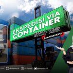 container jepara ambon