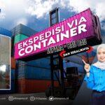 ekspedisi container jepara baubau