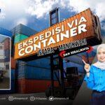 container jepara manokwari