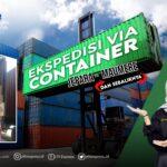 ekspedisi container jepara maumere